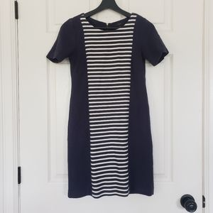 J. Crew nautical cotton dress with stripes